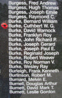 Memorial– WO II Air Bomber Cuthbert Worcester Graham Burke is also commemorated on the Bomber Command Memorial Wall in Nanton, AB … photo courtesy of Marg Liessens