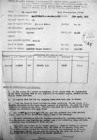 Document– Burial information, LAC, Ottawa.