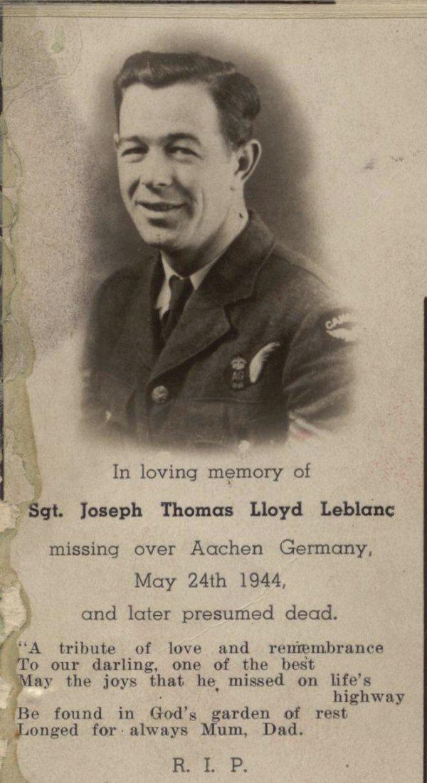 Photo of Joseph T. L. LeBlanc