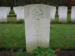 Grave Marker– Photo courtesy of Frans van Cappellen, Putten, The Netherlands