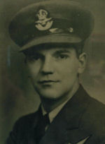 Photo of Alexander Allan– In memory of the students from Western Technical School, Toronto who served during World War II and did not return. Submitted for the project, Operation: Picture Me.