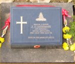 Grave marker– Photo Taken in Mid December after Rememberance day 2006.
