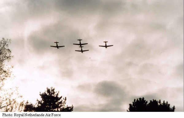 Royal Netherlands Air Force Fly Over