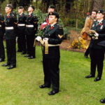 The Lincs on Parade– Members of the Lincoln and Welland Regiment