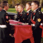 Pallbearers– Members of the Lincoln and Welland Regiment