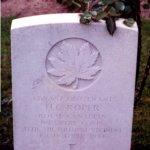 Grave marker for H. C. Roper