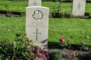 Photo of IAN BARNES ANDREW– Gravestone at Groesbeek