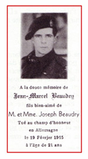 Photo of Jean Marcel Beaudry