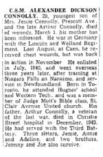 coupure de presse – The Toronto Star, 29 mars 1945, page 11
