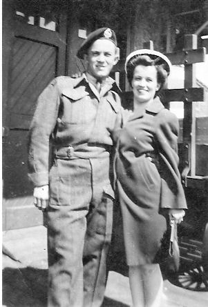 Photo of Leonard and Doris Cormier