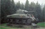 Tank– Tank at the entrance of the Groesbeek Cemetery