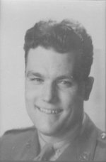 Photo of Edward L. N. Grant– Lieutenant Grant was a replacement officer who joined the QOR in early January 1945 in Holland. He was KIA leading his riflemen of 8 Platoon, Alpha Coy, in combat at Steeg, Germany.