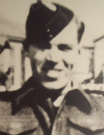 Photo of Clayton Keel– Clayton Clarence Keel in his uniform.