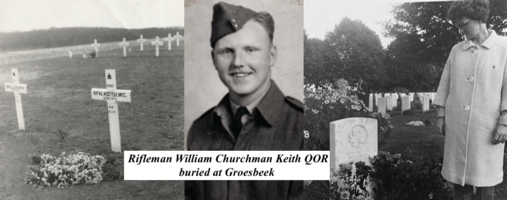 Photo of William Churchman Keith– Submitted for the project, Operation Picture Me