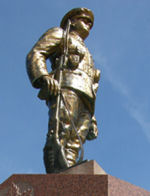 Memorial– This cenotaph is located in the Town of Durham, Ontario.