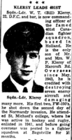 Newspaper clipping– In memory of the men and women remembered on the pages of the Toronto Star. Submitted for the project, Operation Picture Me