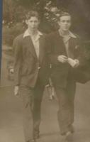 Photo of James Howard Kenneth Graham– Ken on left. Submitted for the project Operation Picture Me