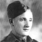 Photo of Donald Henson– Joined the Royal Canadian Army Service Corps in January 1941, and was posted to England in June 1942. Killed in a motorcycle accident in England.