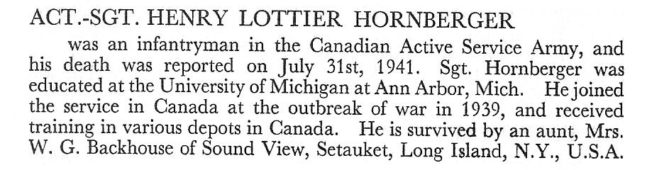 Photo of HENRY LOTTIER HORNBERGER