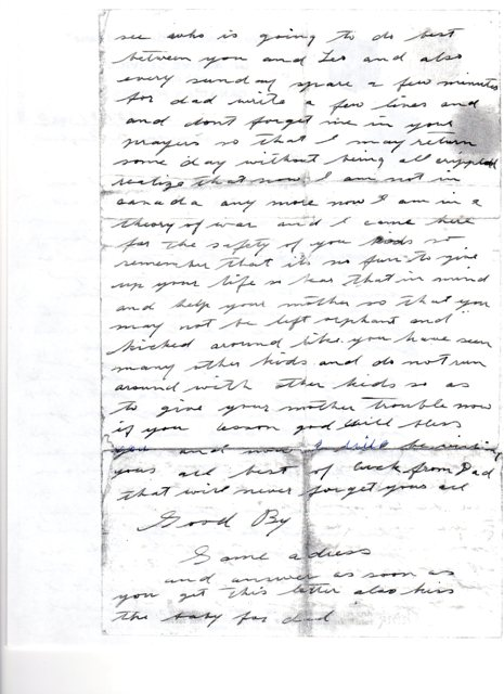 Letter (Page 2)