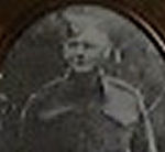 Photo of Felicien Joseph Le Blanc– This is a picture of my grandfather. Above him is the medal that my grandmother received.