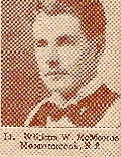 Photo of William Wilfred McManus– Submitted for the project, Operation: Picture Me