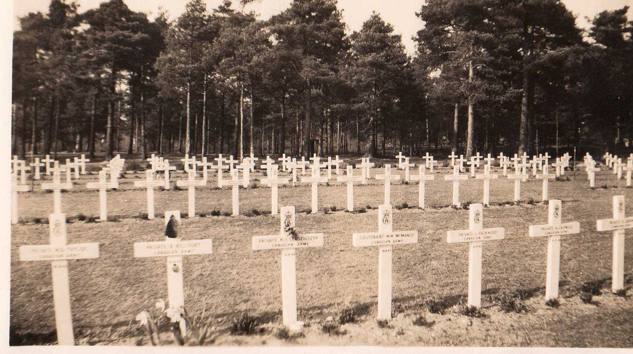 Cemetery– William McManus 4th from left. Submitted for the project Operation Picture Me