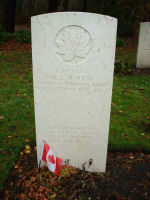 Grave Marker– Grave marker of Neil Linklater McNabb in Brookwood Cemetery Taken on Remembrance Day 2010