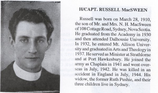 Photo of Neil Russell MacSween