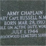 Memorial– We were doing photos for the Maple Leaf Legacy Project at Hardwood Hill Cemetery in Sydney, Nova Scotia. We came across this marker and took the pic.