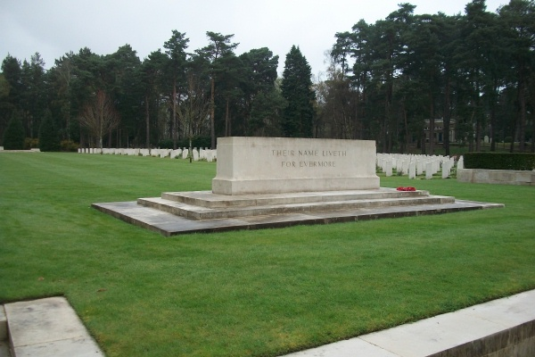 Brookwood Military Cemetery– Stone of Remembrance - Brookwood Military Cemetery - April 2017 … photo courtesy of Marg Liessens