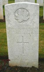 Grave Marker– Courtesy Wilf Schofield, England