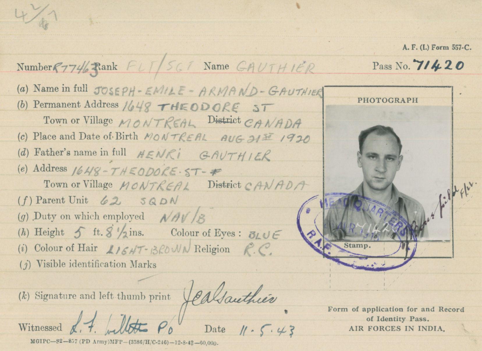 Identity Pass
