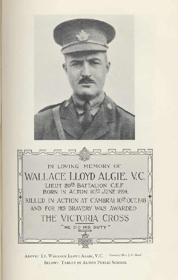Photo of Wallace Algie