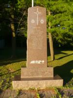 War Memorial– Erected by the Town of Caledon in 1989, the Alton War memorial sits in front of the Lt Algie V. C. Royal Canadian Legion, Branch 449.  It was dedicated to those who lost their lives in war, by the Families and Citizens of the Town of Caledon.