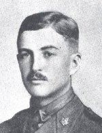 Photo of Wallace Lloyd Algie– This photo of Lieutenant Wallace Lloyd Algie was taken from the regimental history of The Queen's Own Rifles (1960).  Lieutenant Algie first began his military service in the militia with the QOR and then enlisted in the 198th Battalion, which is one of six battalions that the QOR offically perpetuate from the First World War.  He is therefore listed as a Victoria Cross winner of the Regiment.