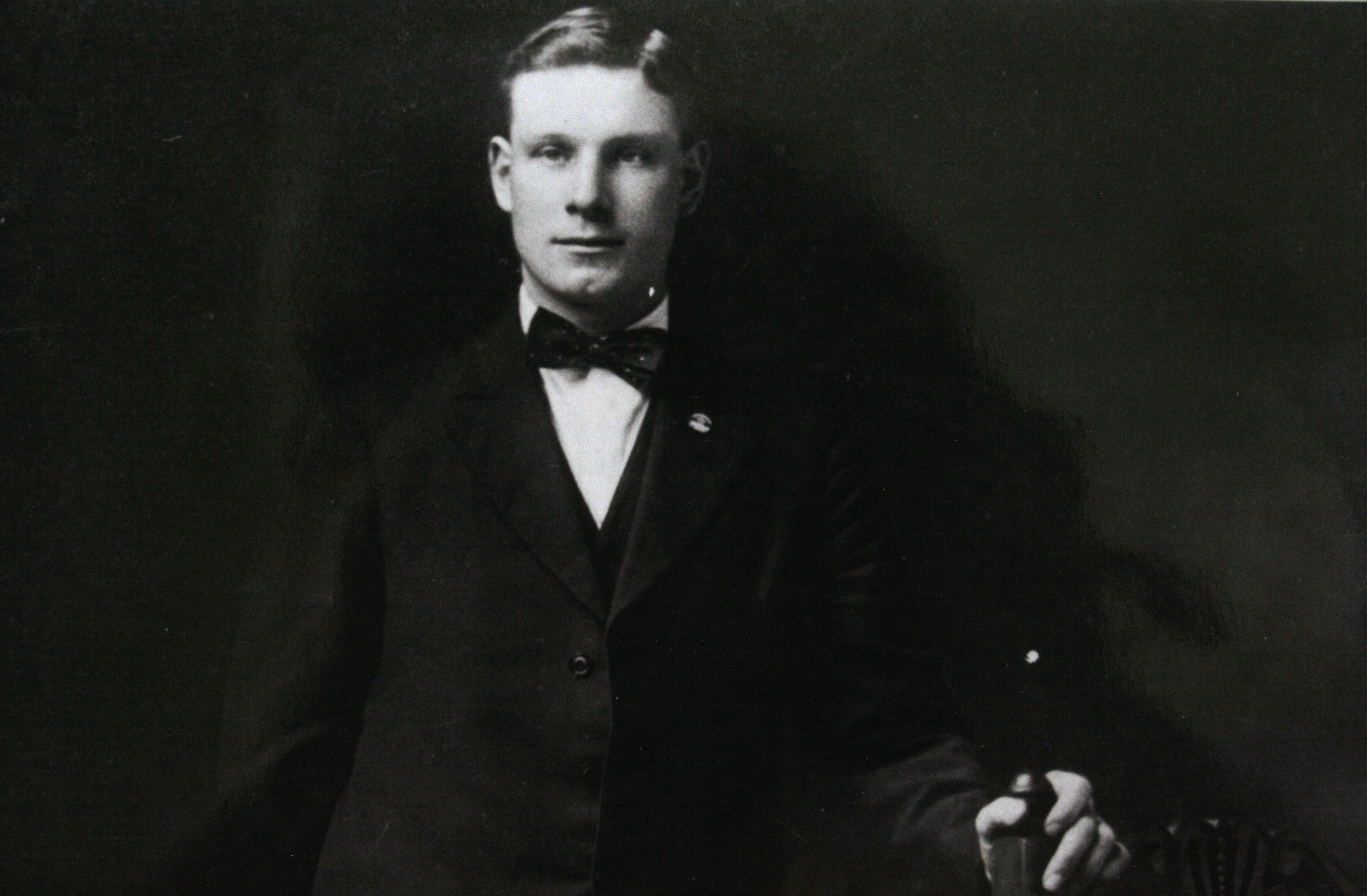 Photo of Willam Harold Edminston (1893-1918)