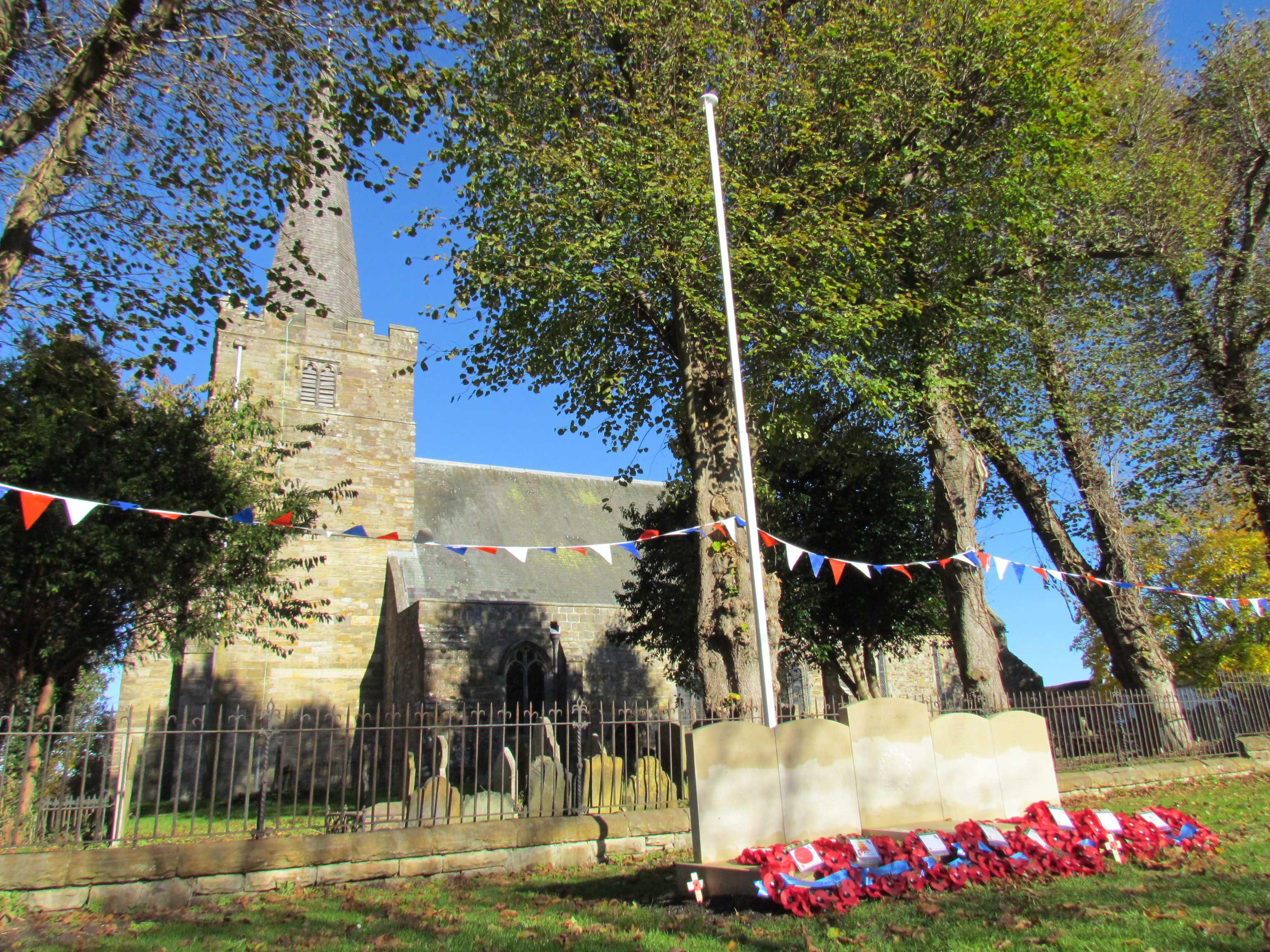 Church– Rotherfield Parish War Memorial Service of Dedication 20th October 2018