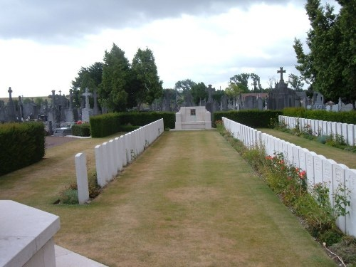Cemetery– Picture of the Niagra Cemetary in Iwuy, France.