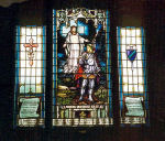 Stained Glass Window– A stained glass window at Silton United Church in Silton, SK was erected by the Silton United Church and Royal Canadian Legion Branch No. 33. These windows are dedicated to the local war dead of the First World War. -------------------------------------------------------------------------------- [centre/au centre]   MY GRAVE IS SUFFICIENT FOR THEE  DEDICATED TO THE GLORY OF GOD AND IN THE LOVING MEMORY OF THE MEN OF THIS DISTRIT WHO MADE THE SUPREME SACRIFICE IN THE WORLD GREAT WAR 1914-1918   [left/à gauche]   RENWICK W.H. ANDERSON FRED ATKINSON GEORGE FLAVEL WILLIAM J. ROSS   [right/à droite]   THOMAS RAMSAY JOHN P. RAMSAY ERIC WATERLOO RAYNOR WRIGHT H.H. WILLIAMSON  http://www.cmp-cpm.forces.gc.ca/dhh-dhp/nic-inm/sm-rm/mdsr-rdr-eng.asp?PID=2591