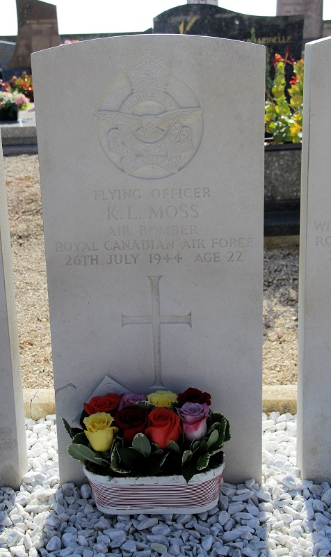 Grave Marker– More than 73 years after his sacrifice a family member was finally able to visit his final resting place.