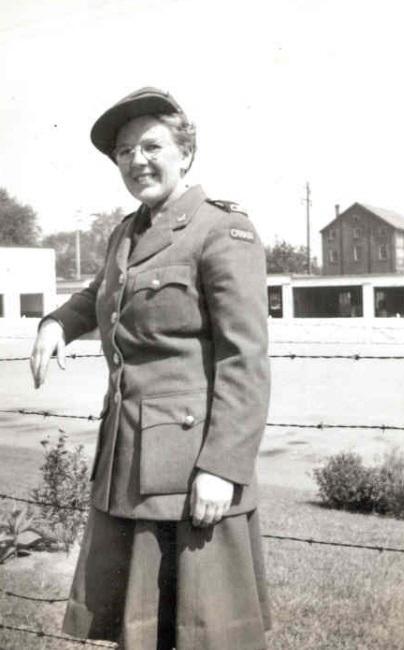 Photo of Mona Ethelyn McBride– Photo: Huntley Historical Society