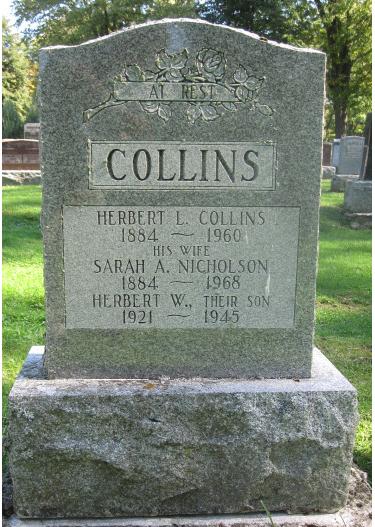 Photo of HERBERT WILLIAM COLLINS