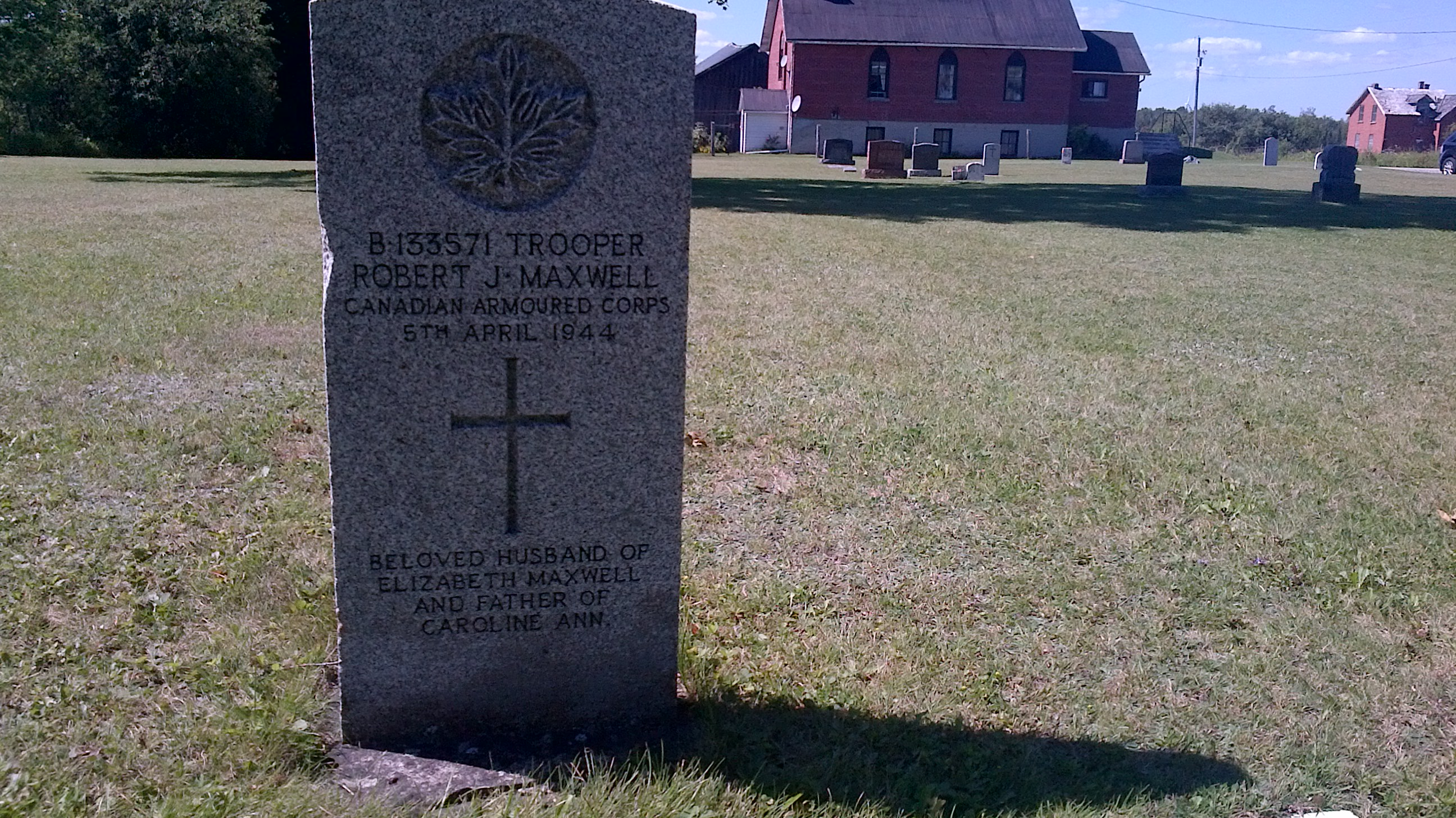 Grave marker– B133571