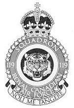 Squadron Badge– No. 119 City of Hamilton Squadron Badge