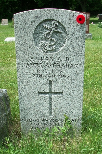 Grave marker– Photo courtesy of Marg Liessens