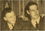 Newspaper Clipping– Winnipeg Tribune clipping. Roy Farnham second from left.