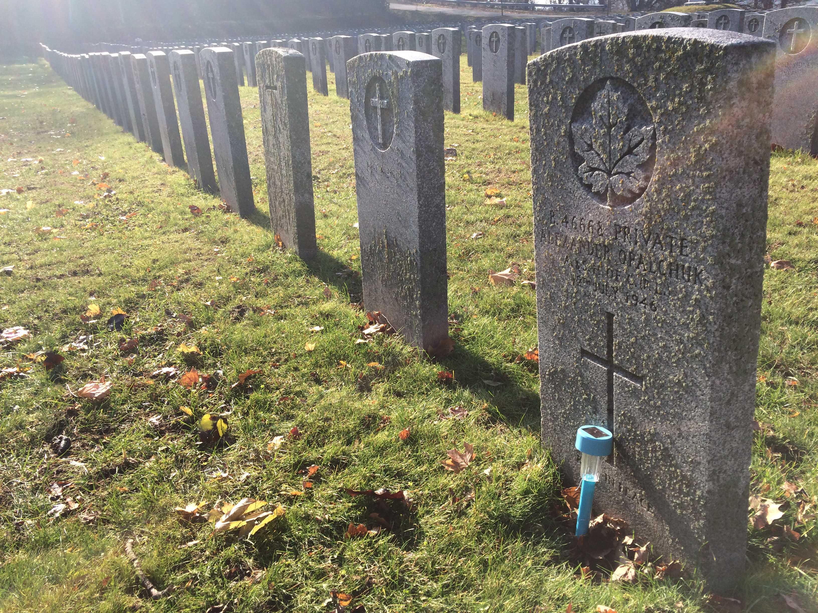 Grave Marker– A mere beacon, Sailing through the night Guiding safely to The next twilight