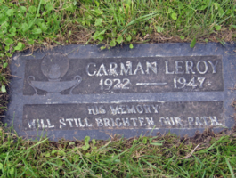 Gravestone– Submitted for the project, Operation Picture Me