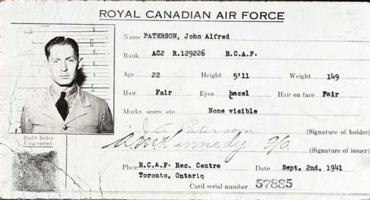 Photo of JOHN ALFRED PATERSON– Submitted for the project, Operation Picture Me
